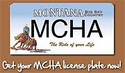 Get your MCHA License  Plate...